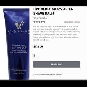Venofye Drone Bee After Shave Balm
